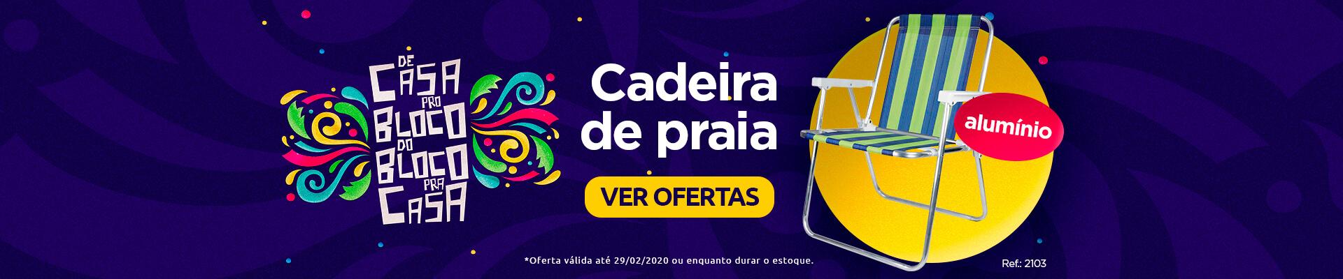 Carnaval de Ofertas - Cadeira