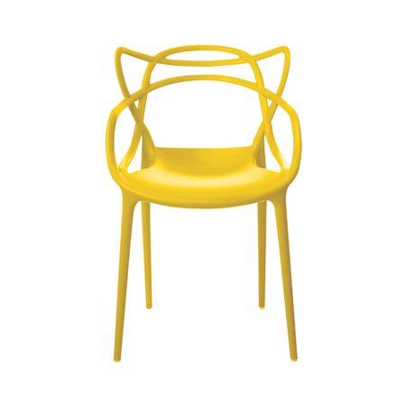 Cadeira Rivatti Allegra Amarela